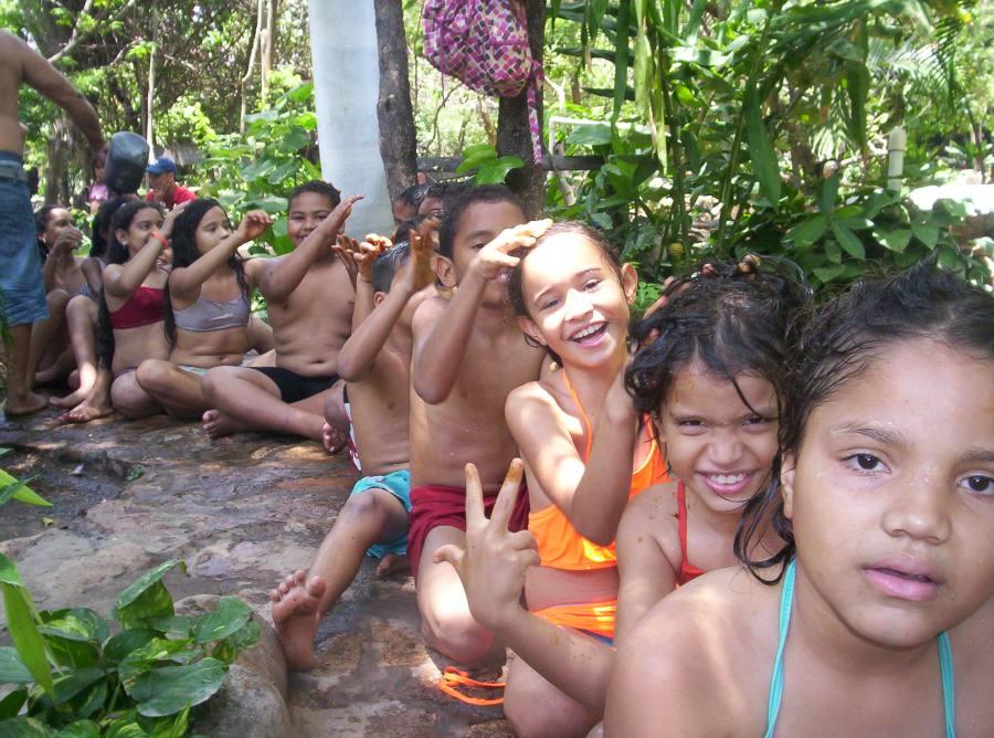 Niños del Taller Ecojugando - SPA Natural