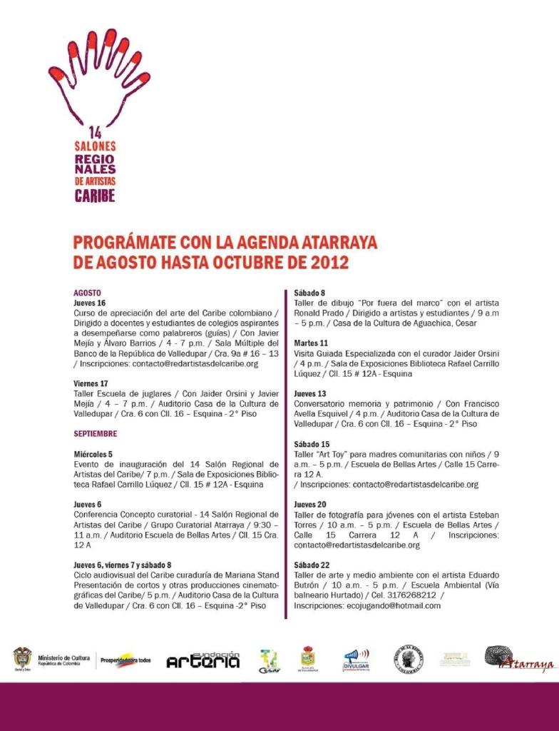 Programación 14 SRA del Caribe página 1