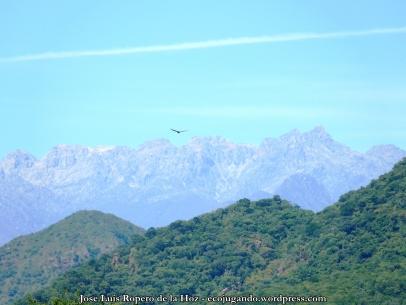 Vista de la Sierra Nevada desde el río Guatapurí