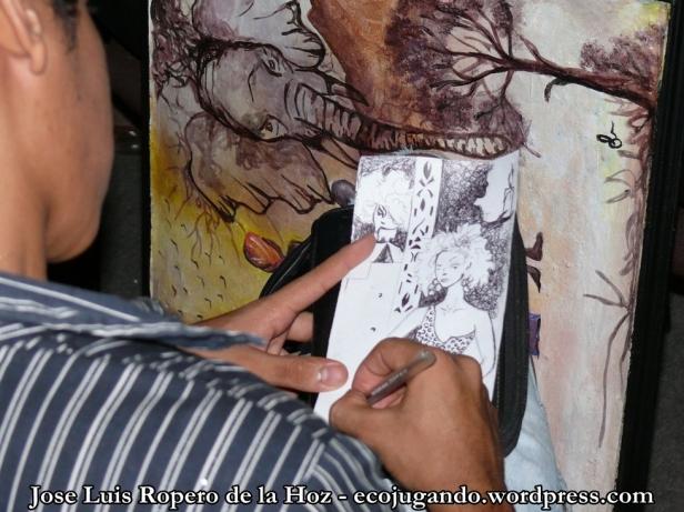 Estudiante de Arte y Folclor en Bellas Artes.