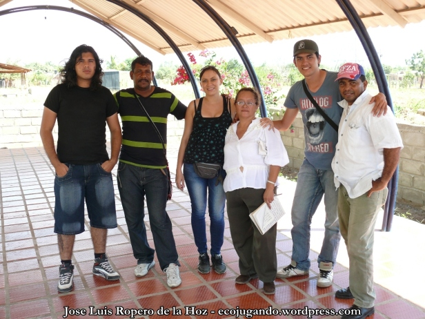 Líderes de la Fundación Juventudes Unidas de Colombia