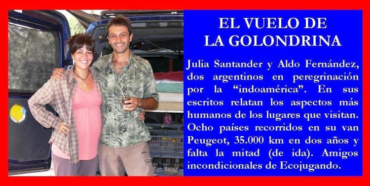 Clic en la imagen para acceder a los artículos de Aldo y Julia