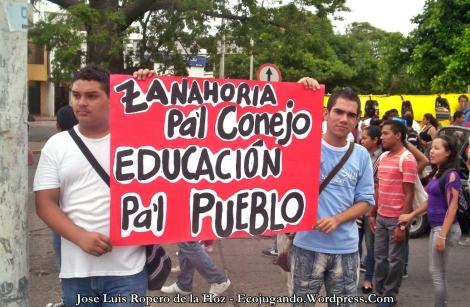 Estudiantes de la Universidad Popular del Cesar
