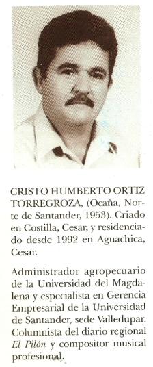 Cristo Humberto Ortiz - Ficha del autor