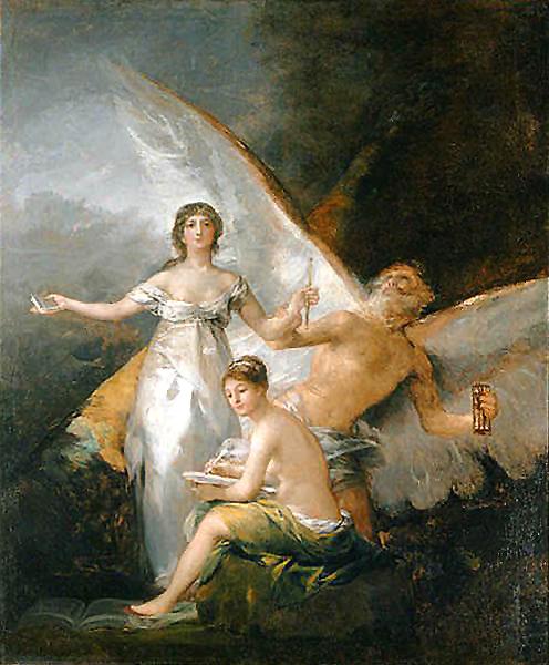 La verdad, el tiempo y la historia. Francisco de Goya.