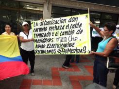Protesta social Valledupar
