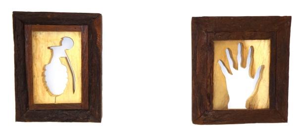 Variables, tallado en madera