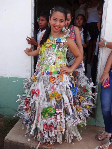 Desfile de modas ecológicas