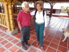 Fabiola Fuentes y don Manuel Montaño - Hacienda La Helenita