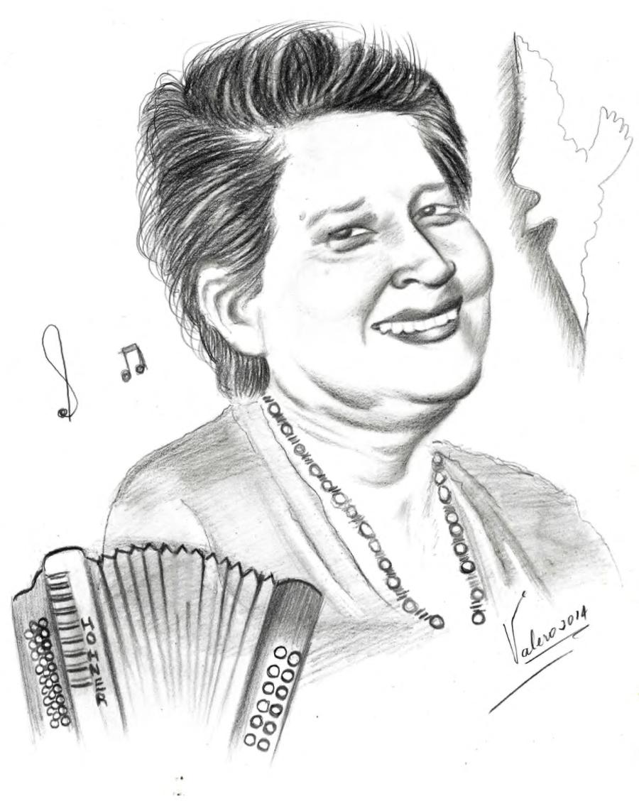 """Retrato """"Te recordamos Lolita"""", Autor: Guillermo Valero"""