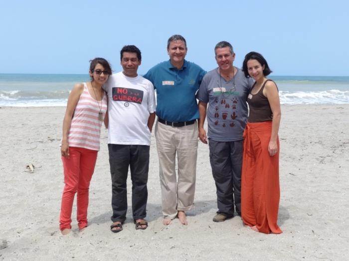 Catalina Sosa, Javier Barriga, Jorge Orozco, César Marulanda y Mariana Sarmiento.