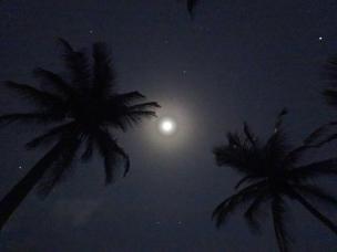 Anochecer playa El MAtuy