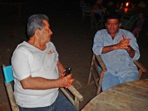 José del Carmen y Rubén Darío
