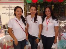 Laboratorio Nancy Flórez. Loana Araújo, Adriana Pacheco, Yainis Barahona