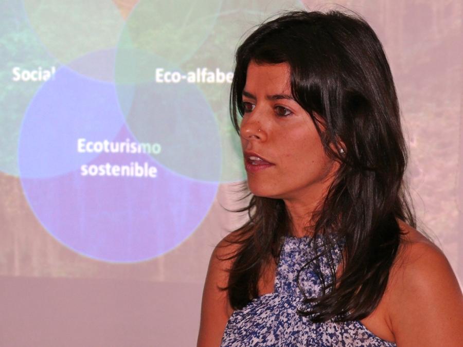 Katty Ropero Antelíz / Foto: Jose Luis Ropero - Ecojugando