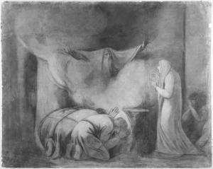 Sombra de Darío (George Romney - 1790).