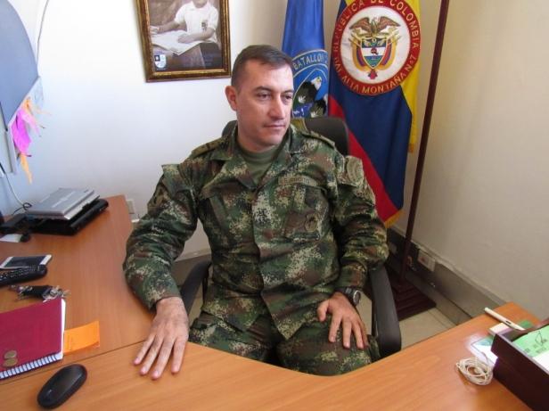 Coronel Carlos Eduardo Bernal. Foto: Jose Luis Ropero - Ecojugando.