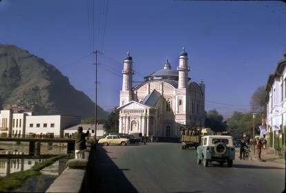 """Masjid Shah-e-do Shamsheera in Kabul. """