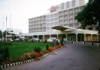 """""""Hotel Intercontinental. The hotel has been attacked on and off since Soviet forces left in 1992, most recently by suicide bombers in June 2011. It is still in operation and was used by western journalists during the 2001 U.S.-led invasion of Afghanistan."""""""