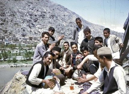 La colorida vida en Afganistán (1960). Foto: William Podlich.