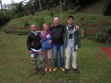 John Eduardo Murillo, Elsa Ruíz, Raúl Nieto, Jaime Suárez (Finca Alejandría).