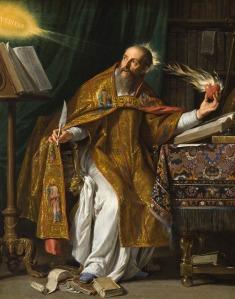 San Agustín, por Philippe de Champaigne.
