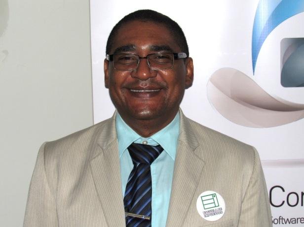 José Gregorio Arias, director de la Escuela de Impuestos. Foto: Jose Luis Ropero.