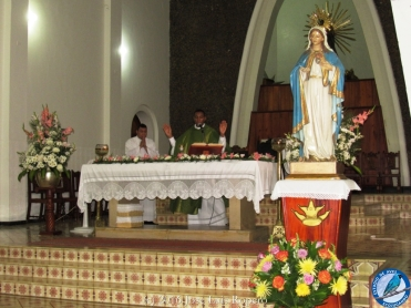Padre Carlos Imbrecht. Foto: Jose Luis Ropero.