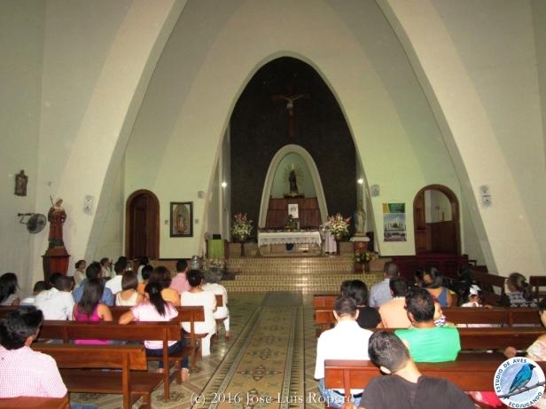 Eucaristía, Catedral Nuestra Señora del Rosario. Foto: Jose Luis Ropero.