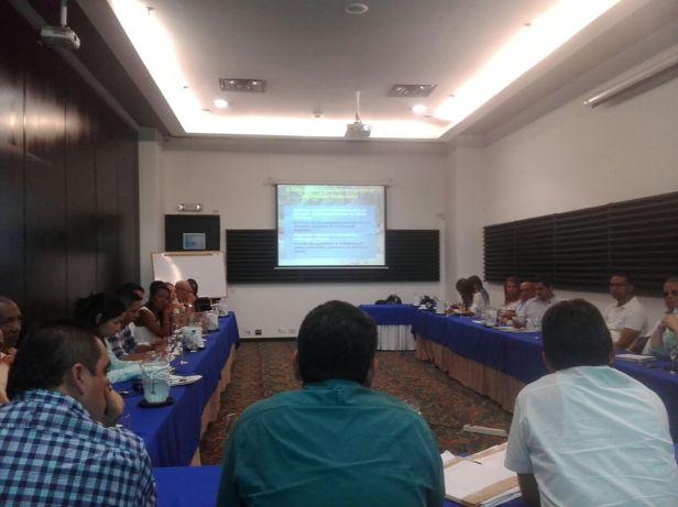 Última sesión de la Mesa Interinstitucional del Río Guatapurí. Foto: Helmer Gómez.