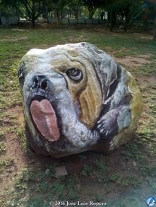 Perro Bulldog.