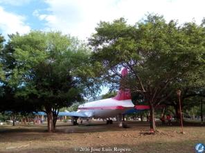 Avión del parque del Helado.