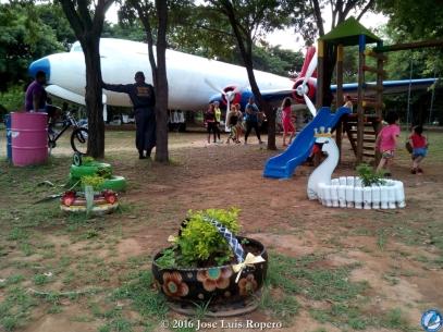 Parque del Helado, juegos infantiles.