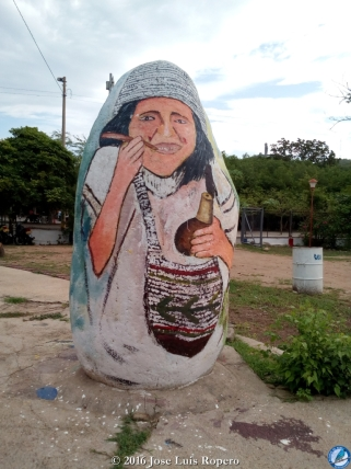 Indígena arhuaco.