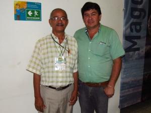 Ing. Luis Guerra y Biol. Miguel Sierra.