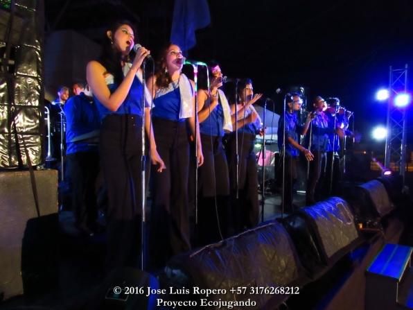 Grupo musical 'Conection'. Foto: Jose Luis Ropero.