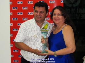 Juan Eduardo Sandoval, tercer lugar categoría individual.