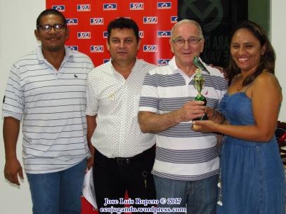 Edi Jiménez, Germán Sandoval, Ramón León Hernández, Edith Reales. Foto: Jose Luis Ropero.