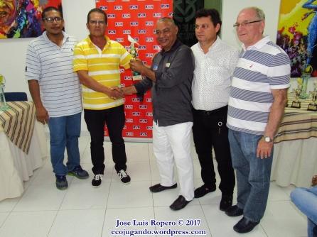 Edi Jiménez, Eduardo Plat, Adinael Arias, Germán Sandoval, Ramón León Hernández. Foto: Jose Luis Ropero.