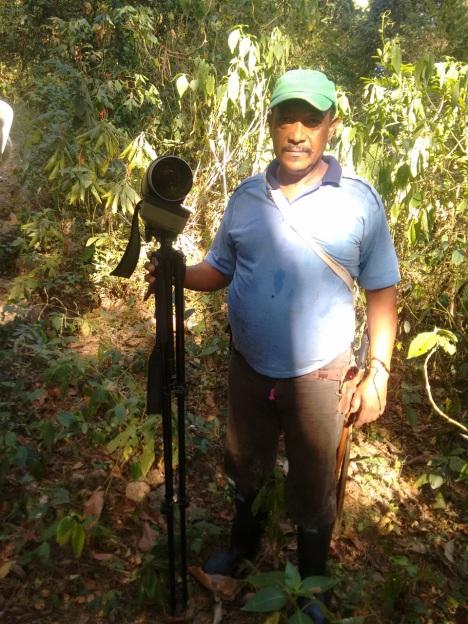 Rafael Eccehomo Yaguna, Guardabosques. Foto: Gabriel Utria.