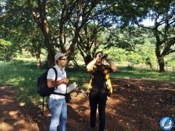 Primeras lecciones de birding con el Pastor Mao.