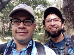 Con Juan Manuel Cardona.