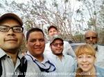 También en Los Besotes, con el profesor Tomás Darío, clientes australianos y amigos de Corpocesar
