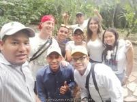 Parceros Adela Becerra, John Myers, Gabriel Utria y el equipo Birding Santa Marta.