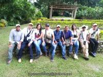 Con el equipo Birding Santa Marta.