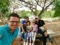Familia Botero Jiménez, de Valledupar, integrantes del Proyecto Ecojugando.