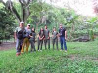 Participantes en el October Big Day, Reserva Natural Los Tananeos.