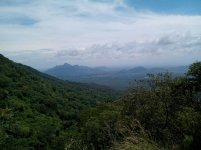 Vista del Valle de Upar, sendero del Monte Horeb).