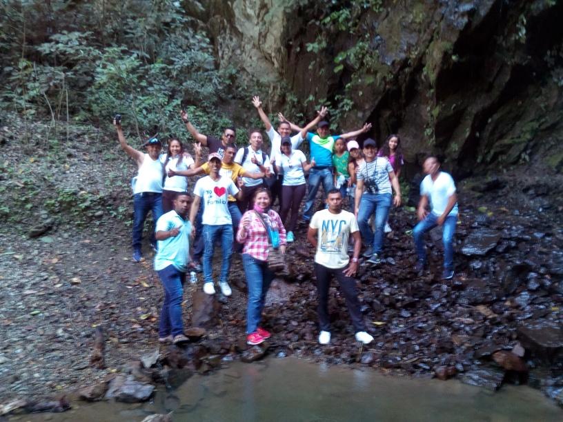 Paseo grupal a Manaure cesar