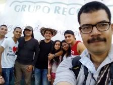 Equipo administrativo del Grupo Recordar Valledupar, guianza en Villa Adelaida, Manaure Cesar.